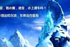 东莞水濂山乐民冰雪世界(成人票)【需提前2小时订票】