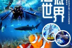 【北京】首家海水水族馆,寓教于乐的富国海底世界!49.9元起下午场